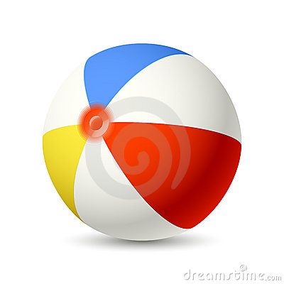 Free Beach Ball Stock Photography - 19722622