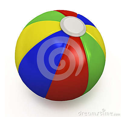 Beach Ball. Royalty Free Stock Photo - Image: 29019975