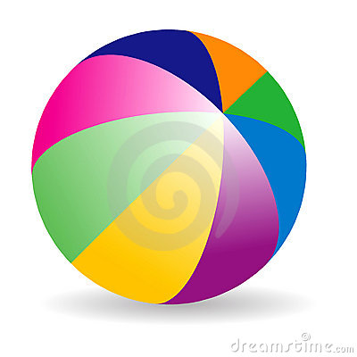 Free Beach Ball Royalty Free Stock Image - 6823896