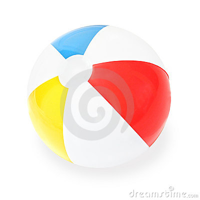 Free Beach Ball Royalty Free Stock Photo - 861345