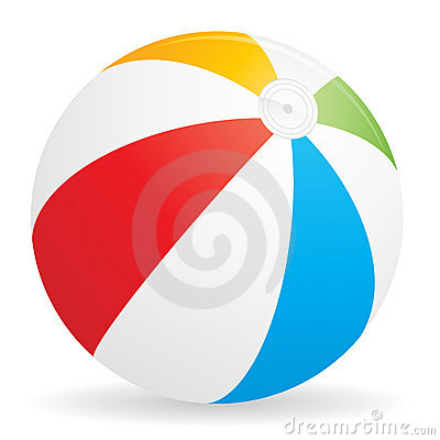 Free Beach Ball Icon Royalty Free Stock Photography - 16518337