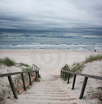 Free Beach - Baltic Sea Royalty Free Stock Image - 15418656