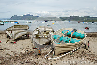 Beach boats.