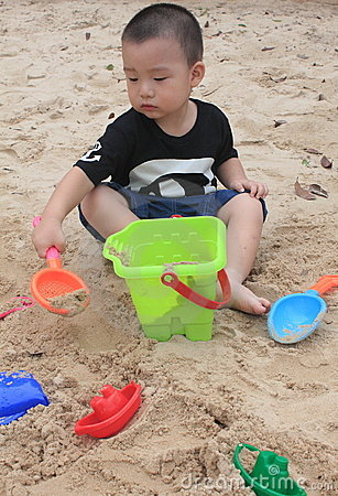 Free Beach Boy Stock Photos - 21117713