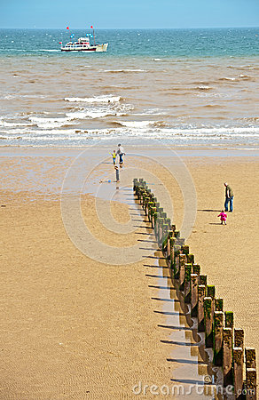 Beach at Bridlington East Yorkshire Editorial Image