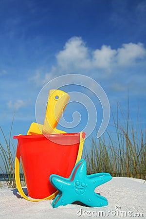 Beach Bucket and Spade