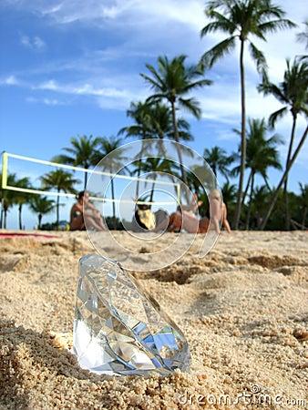 Beach bums and diamond