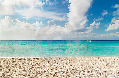 Beach of Caribbean Sea