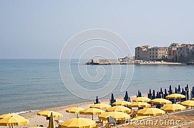 Beach of Cefalù