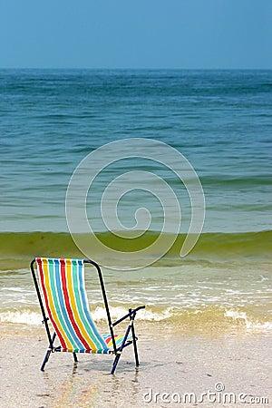 Free Beach Chair Royalty Free Stock Photos - 123248