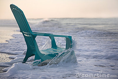 Beach Chair Stock Image - Image: 14586081
