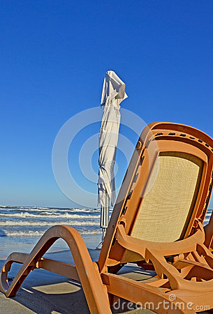 Beach and chair