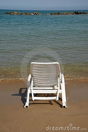 Free Beach Chair Royalty Free Stock Photography - 6444087