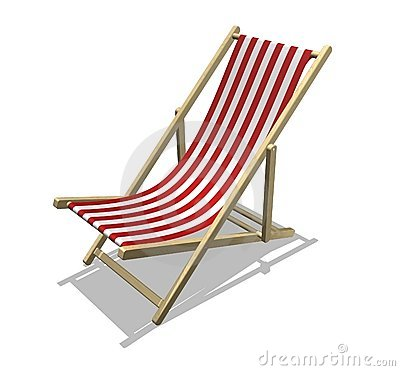Free Beach Chair Royalty Free Stock Photo - 803005