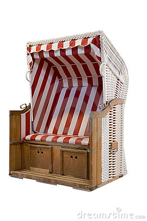 Beach chair cabana