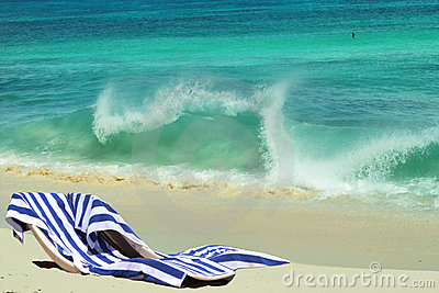 Beach chairs & vacation romance.