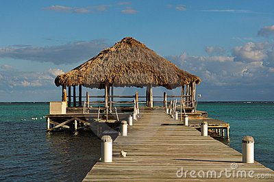 Beach Deck with Palapa
