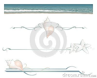 Beach divider lines
