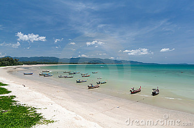 Beach in eastern Thailand