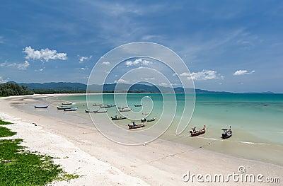 Beach in eastern Thailand