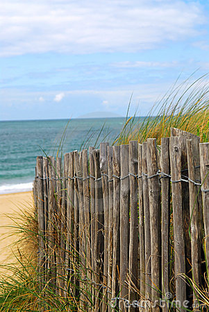 Free Beach Fence Stock Images - 3477914
