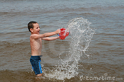 Beach fun - Enjoy on waves