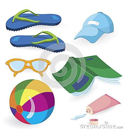 Beach fun items