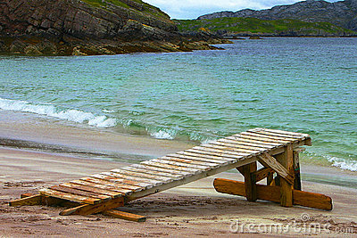 Beach Handa Island - Scotland