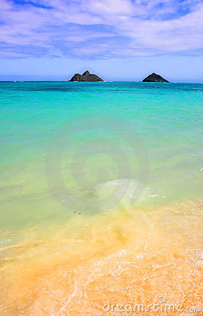 Beach Of Hawaii Royalty Free Stock Images - Image: 2178449