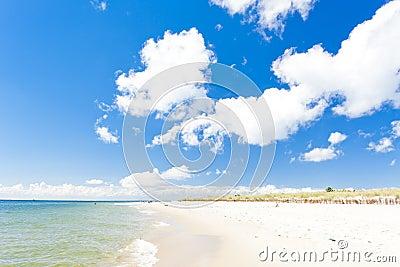 Beach on Hel Peninsula