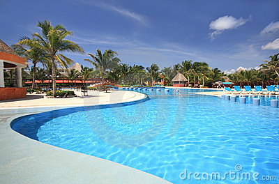 Beach Hotel Resort Swimming Pool
