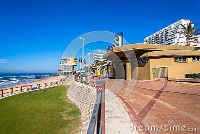 Beach Hotels Lifeguard Tourism Editorial Image