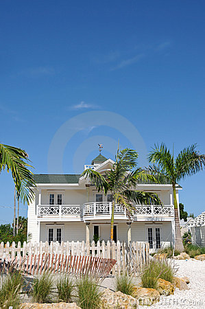Free Beach House Royalty Free Stock Image - 11426566
