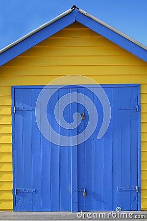 Beach hut