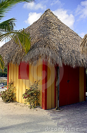 Beach Hut At Coco Cay Stock Image - Image: 1948871