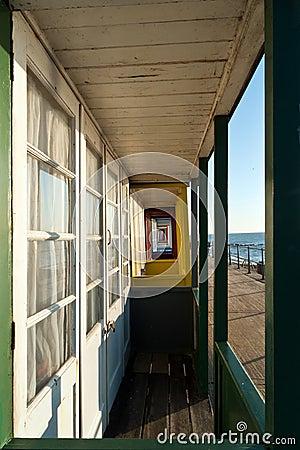 Beach Hut veranda
