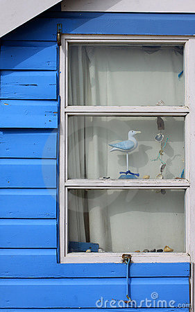 Beach Hut Window