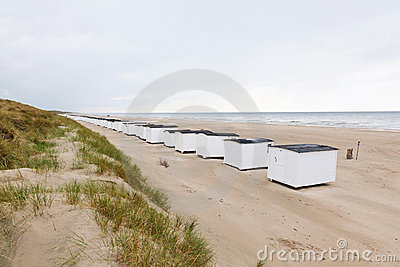 Beach Huts Stock Photo - Image: 15179410