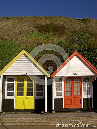 Beach huts
