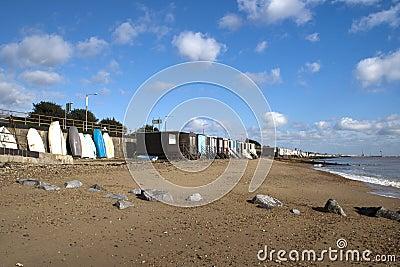 Thorpe Bay Sea Front, near Southend- on-Sea, Essex