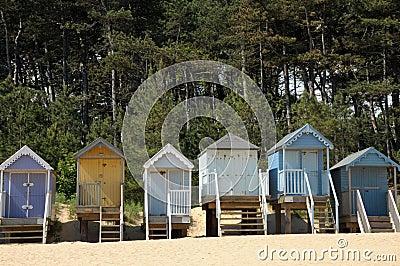Beach huts, Holkham