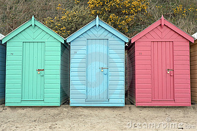 Beach Huts in Wales