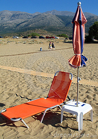 Free Beach In Crete Royalty Free Stock Images - 3211759