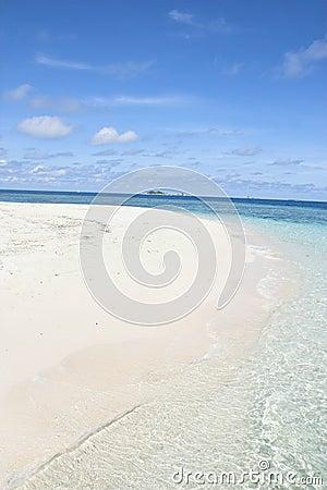 Beach Inside of the island