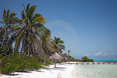 Beach on the Isla Contoy