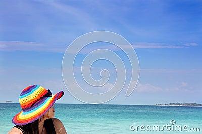 Beach and island