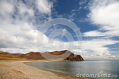 Beach by the Japanese sea