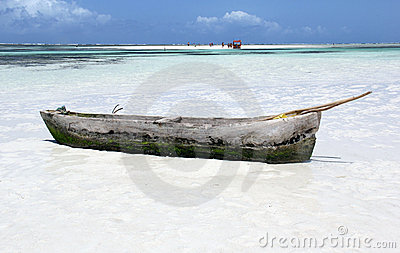 Beach in Kenya