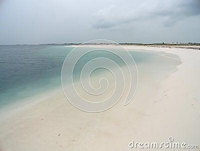 Beach at a key
