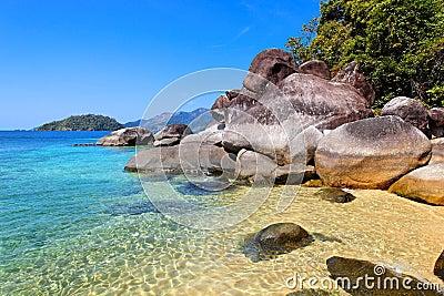 Beach in Ko Lanta, Thailand